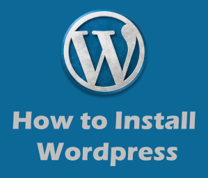 image with word how to install wordpress
